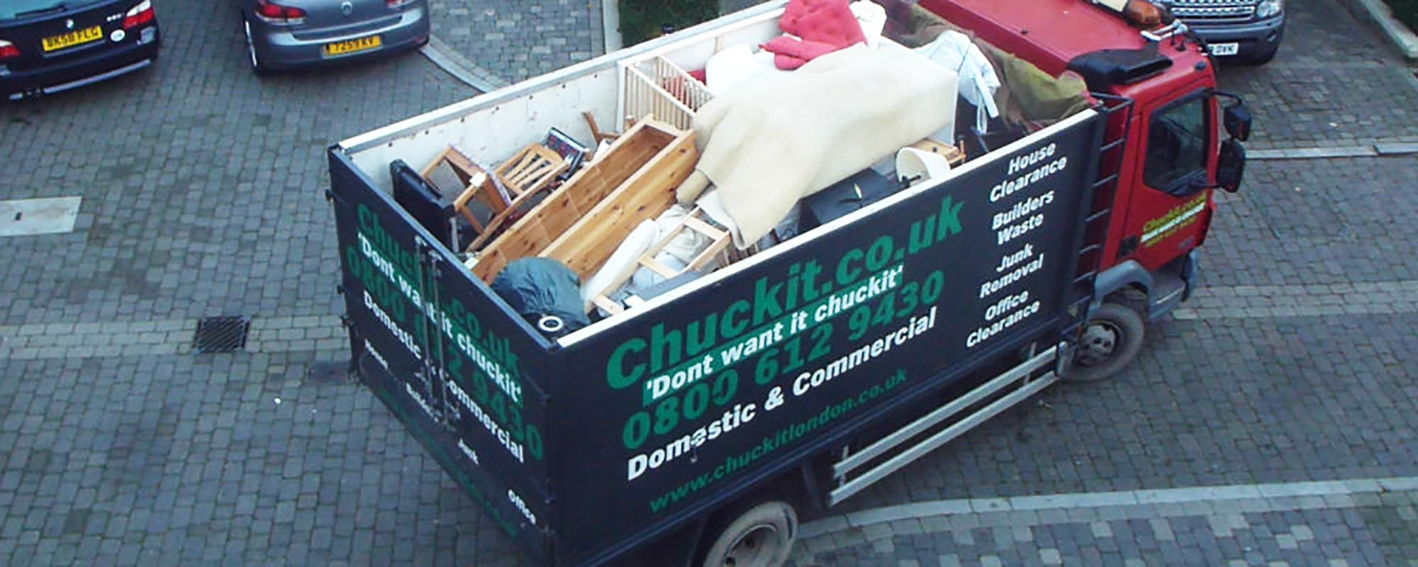 Skip Hire Alternative London- Same Day Service By Chuckit.co.uk
