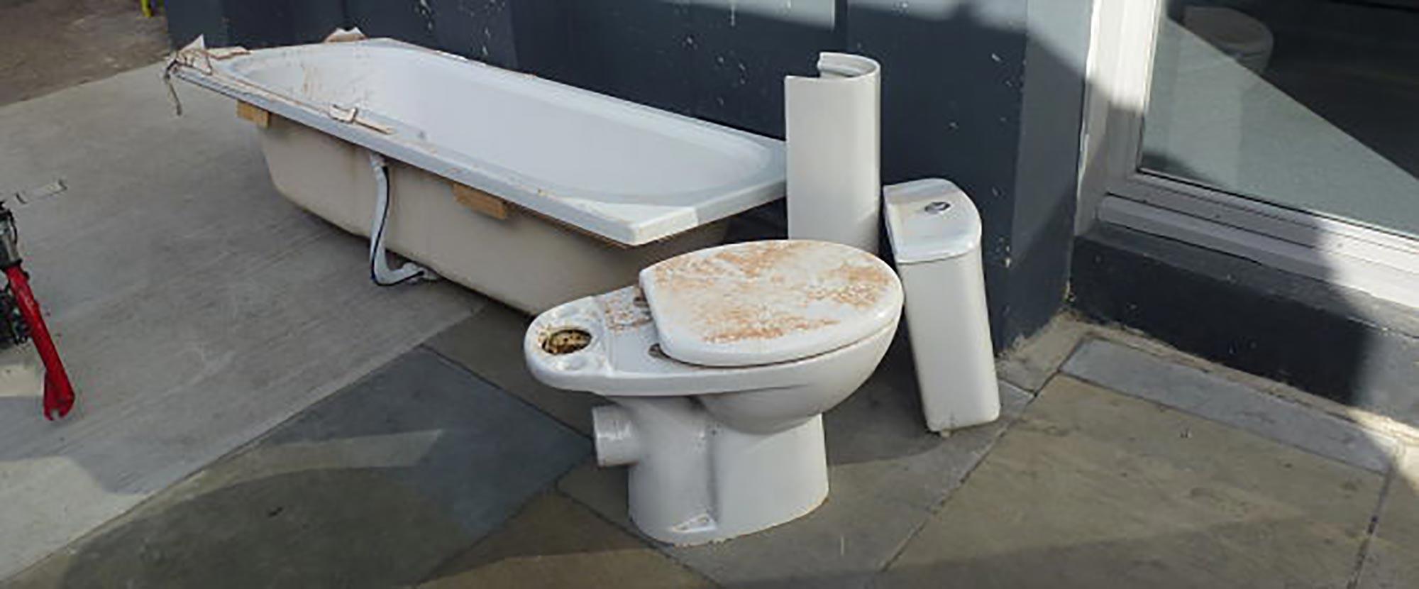 Old Bathroom Disposal London